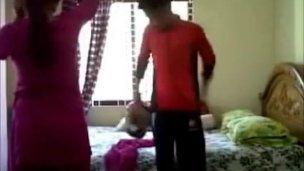 Desi College Lovers Enjoying Hot Romantic Sex